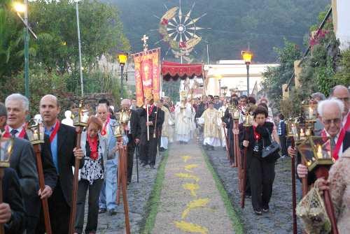 Corpus Christi procession in Mazo