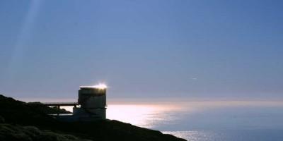 The Telescopio Nazionale Galileo, late afternoon, Roque de Los Muchachos, La Palma