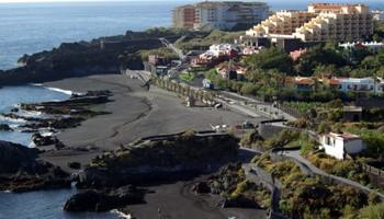 The beach at Los Cancajos, breña Baja