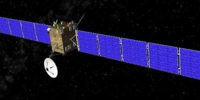 The Rosetta space craft