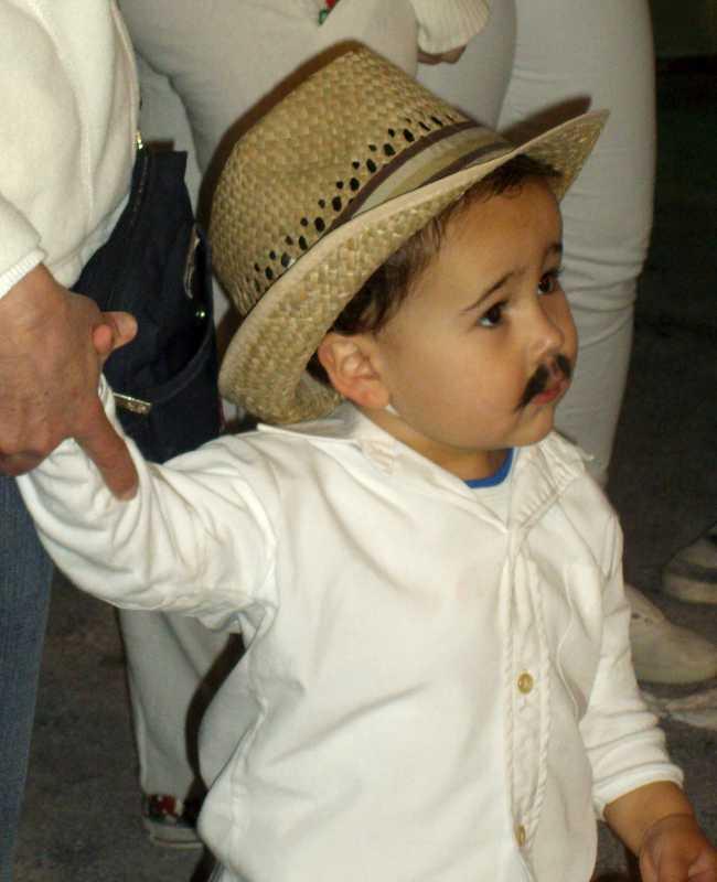 Cute boy, at Los Indianos, Santa Cruz de La Palma