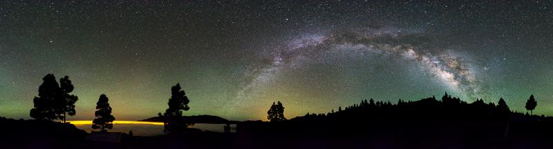 Los Llanos, El Paso, Caldera de Taburiente, Cumbre Nueva, Cumbre Vieja, Pico Birigoyo, La Palma