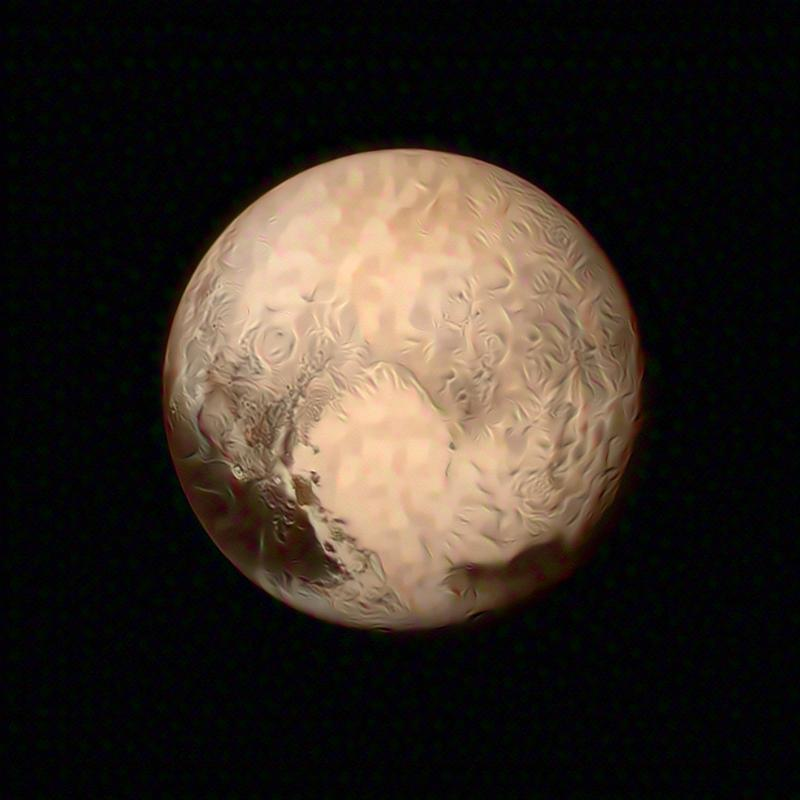 A mirage of Pluto