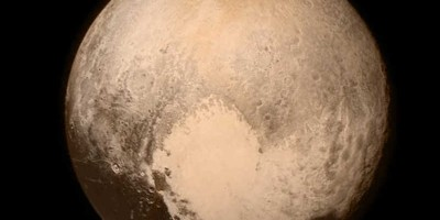 Enormous heart feature on Pluto. Credits: NASA/APL/SwRI