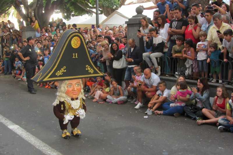 One of La Palma's dancing dwarves, Santa Cruz