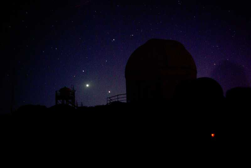Venus and Jupiter and a different telescope, Izaña, Tenerife