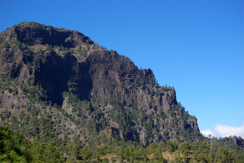 Bejenado, seen from La Cumbrecita, La Palma