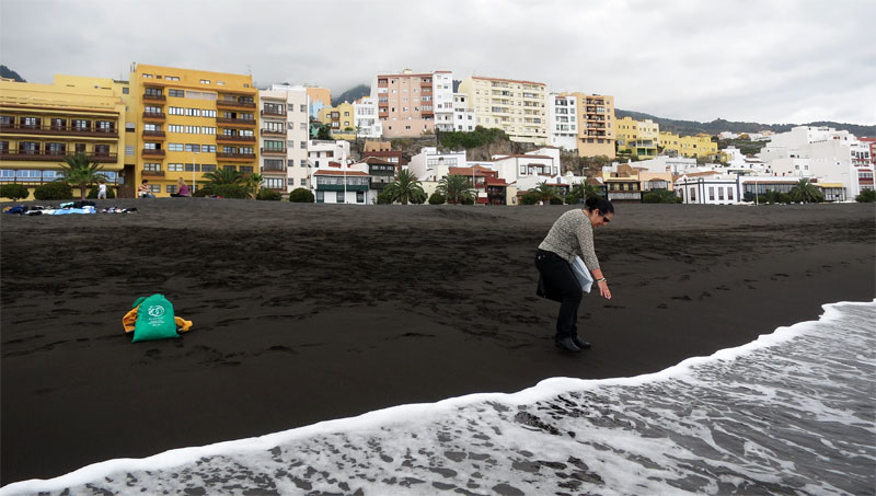 The new beach at Santa Cruz de La Palma
