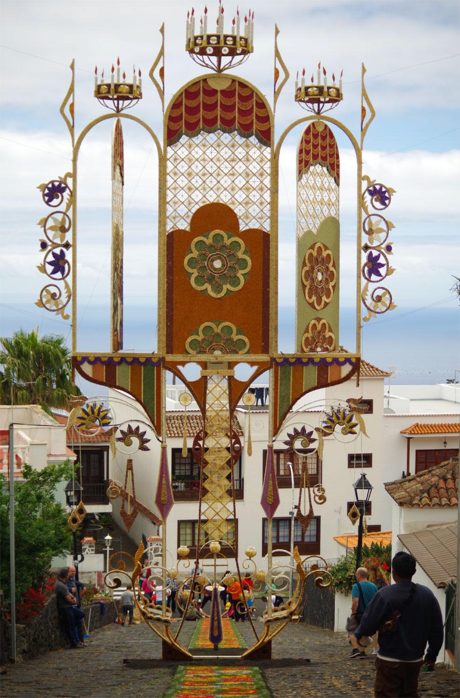 The Corpus Christi archway, Villa de Mazo, La Palma island