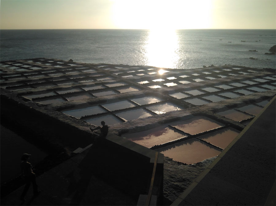 Fuencaliente Salt works, La Palma Island
