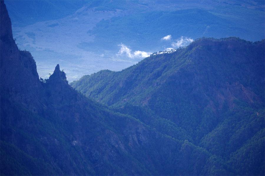 Cumbrecita, from Los Andennes, La Palma island