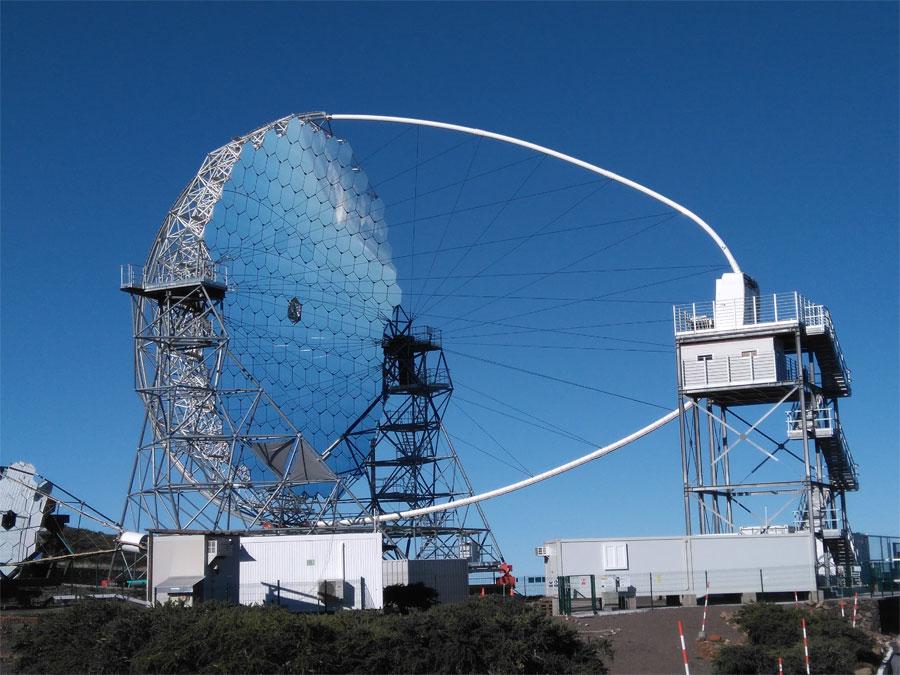 The large size telescope, Roque de Los Mucahchos, La Palma island